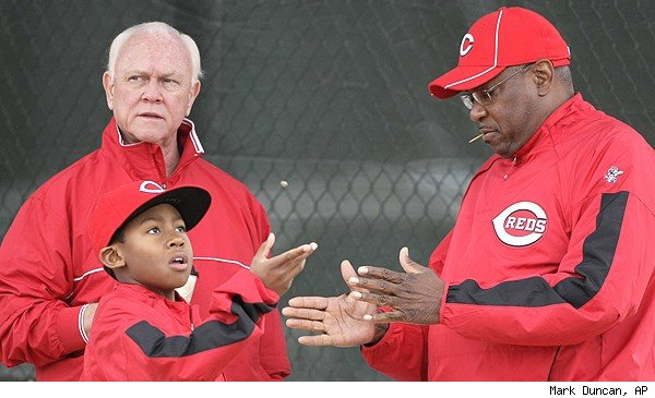 Walt Jocketty and Dusty Baker