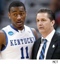 John Wall and John Calipari
