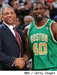 Doc Rivers and Michael Finley