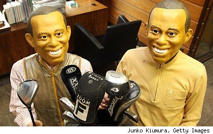 Tiger Woods masks