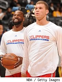 Baron Davis and Blake Griffin