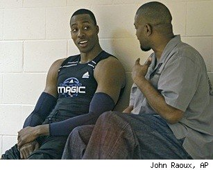Dwight Howard and Otis Smith