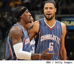 Tyson Chandler and Gerald Wallace