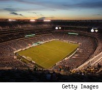 I love New York, and the new Meadowlands Stadium looks nice, but it's no place for a Super Bowl.