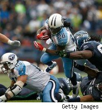 Chris Johnson broke records in his second season as a Titan. But the team wants to see him for at least one more year before renegotiating his contract.