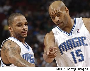 Jameer Nelson and Vince Carter
