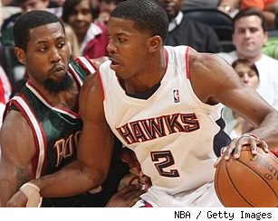 John Salmons and Joe Johnson