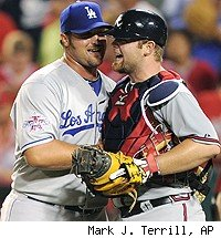 Jonathan Broxton and Brian McCann
