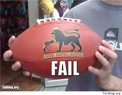 funny football fails Photo
