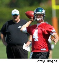 New starting QB Kevin Kolb is likely to be the most important player to the Eagles' chances in 2010.