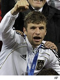 Golden Boot 2010 goes to Thomas Mueller