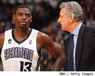 Tyreke Evans and Paul Westphal