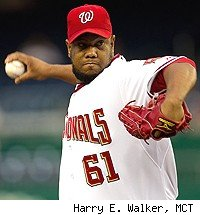 Nationals Lock Up LIVAN HERNANDEZ Through 2011