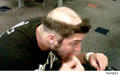 Tim Tebow's haircut