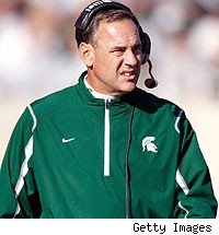 Mark Dantonio was released from the hospital Tuesday ...