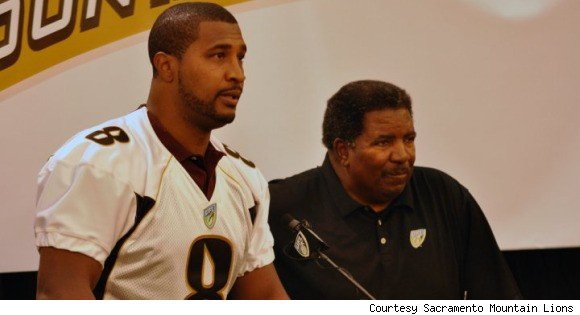 Daunte Culpepper and Dennis Green
