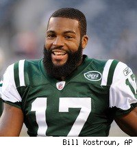 Jets WR Braylon Edwards was busted for drunk driving Tuesday morning in New York
