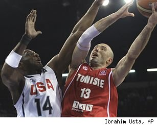 Lamar Odom and Amine Rzig