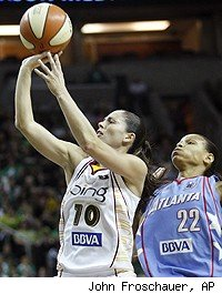 Sue Bird WNBA Finals