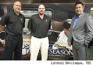 Cal Ripken, David Wells and Ron Darling