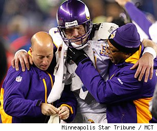 Brett Favre injury