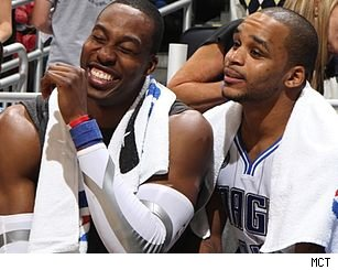 Dwight Howard and Jameer Nelson