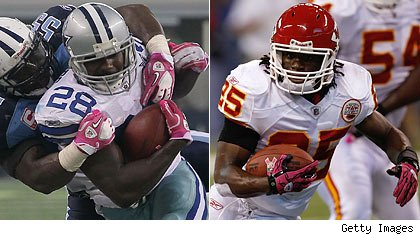 Felix Jones / Jamaal Charles