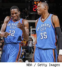 Jeff Green - Kevin Durant