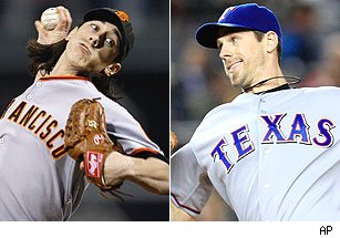 Tim Lincecum / Cliff Lee