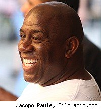 Magic Johnson NFL Los Angeles