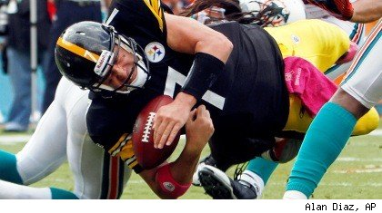 Ben Roethlisberger fumble