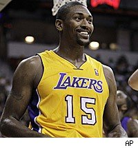 ron artest muscle  Ron Artest has deci...