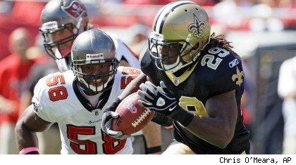 Saints vs. Bucs