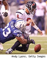Dwight Freeney, Matt Schaub