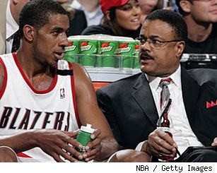 LaMarcus Aldridge and Maurice Lucas