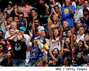 Golden State fans