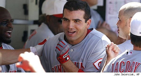 ... JOEY VOTTO is Most Valuable Player of not only Flyover Land but the