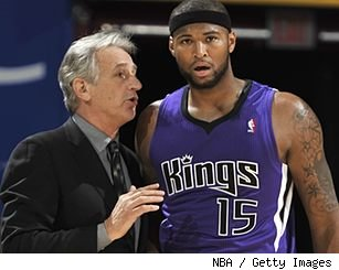 Paul Westphal and DeMarcus Cousins