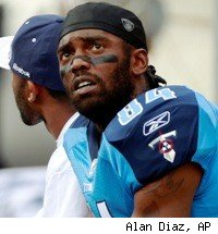 Randy Moss Titans