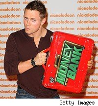 The Miz cashes in Money in the Bank