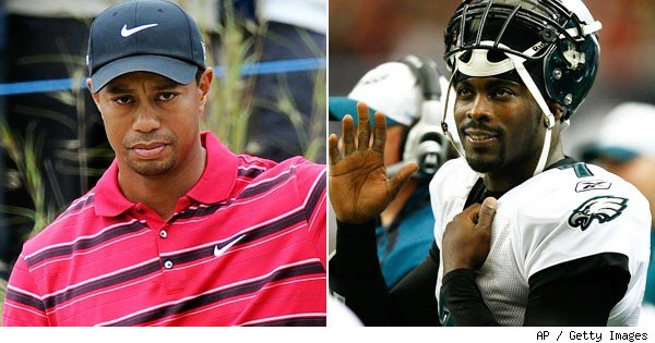 Tiger Woods, Michael Vick