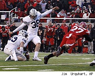 Utah BYU blocked field goal
