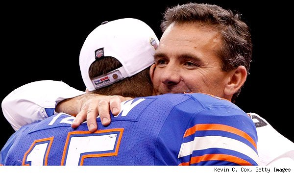 Urban Meyer, Tim Tebow