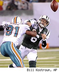 Mark Sanchez, Cameron Wake