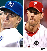 Zack Greinke / Cliff Lee