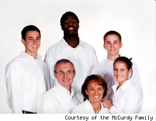 Mike Williams and the McCurdy family