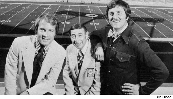 Frank Gifford, Howard Cosell, Don Meredith