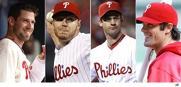Cliff Lee / Roy Halladay / Roy Oswalt / Cole Hamels
