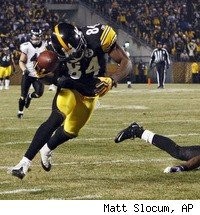 Antonio Brown made the catch of the year in the Steelers' playoff victory over the Ravens.