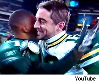 DeSean Jackson and Aaron Rodgers